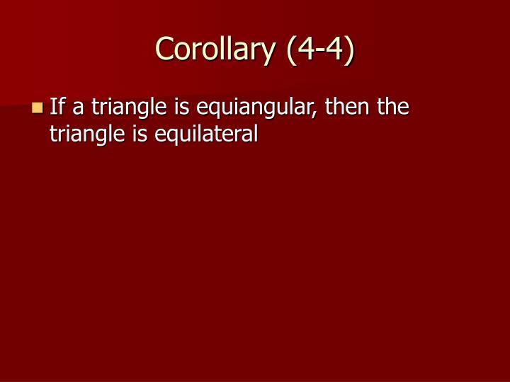 Corollary (4-4)