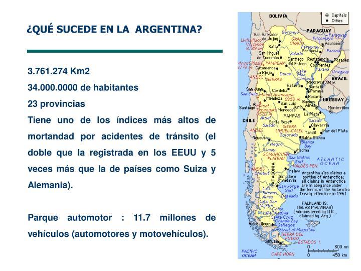 ¿QUÉ SUCEDE EN LA  ARGENTINA?