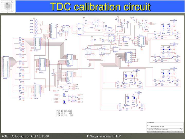 TDC calibration circuit
