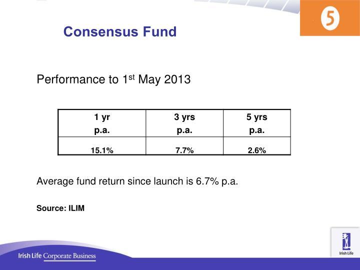 Consensus Fund
