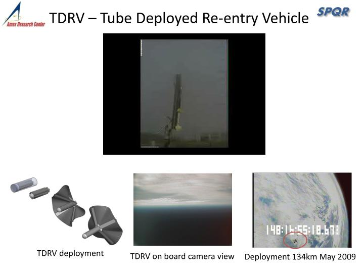 TDRV – Tube Deployed Re-entry Vehicle