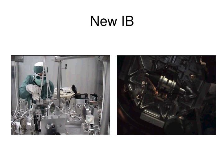 New IB