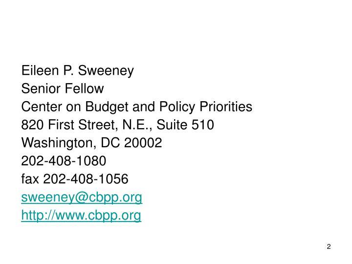 Eileen P. Sweeney
