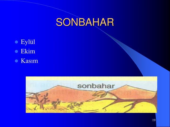 SONBAHAR