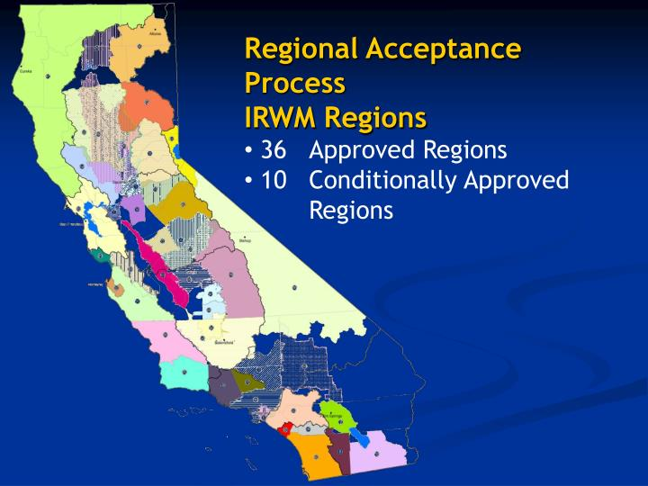 Regional Acceptance Process