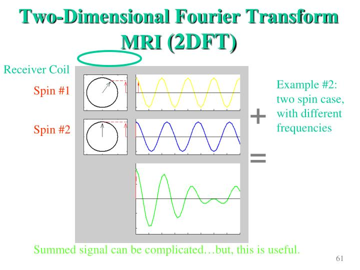 Two-Dimensional Fourier Transform MRI