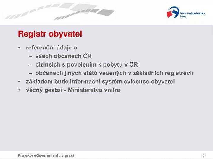 Registr obyvatel