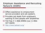 employer assistance and recruiting network earn