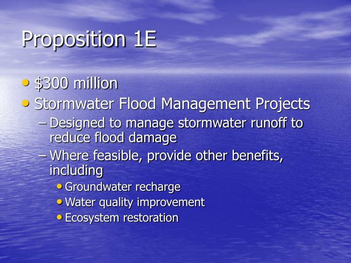 Proposition 1E