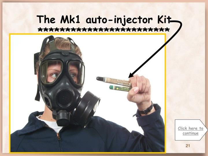 The Mk1 auto-injector Kit