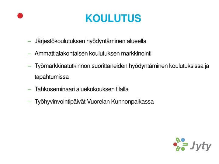 KOULUTUS