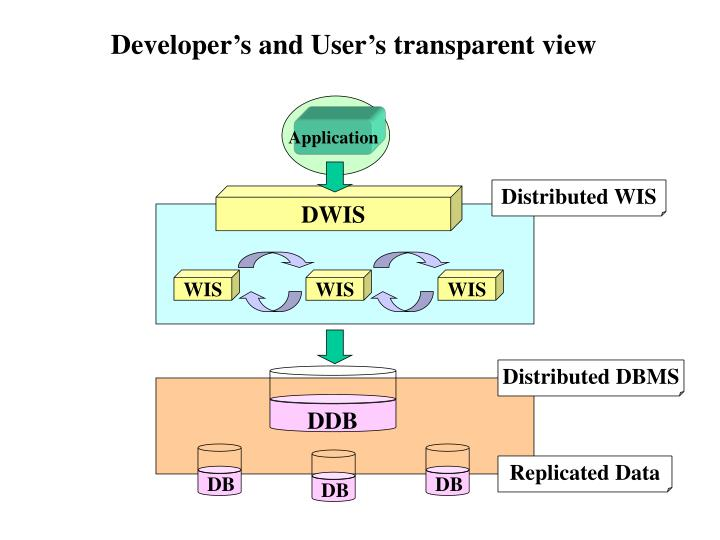 Developer's and User's transparent view