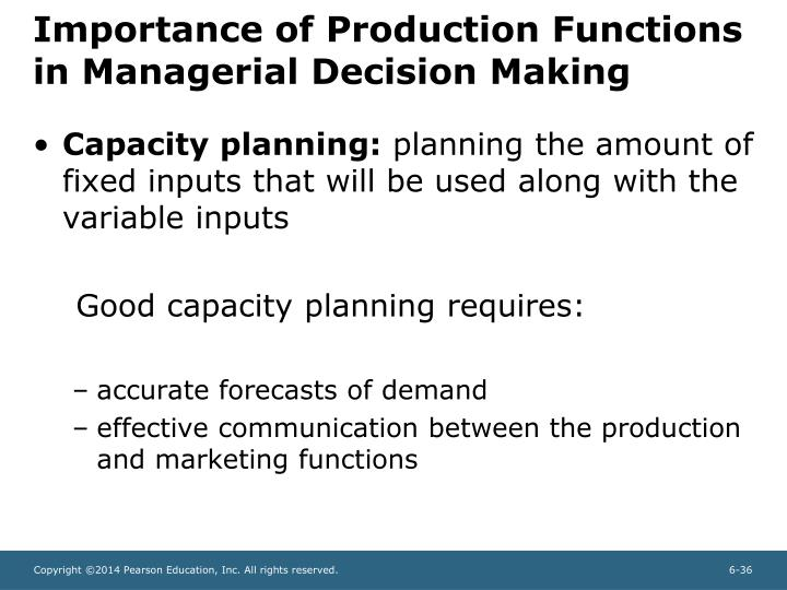 Importance of capacity planning Custom paper Example - July 2019