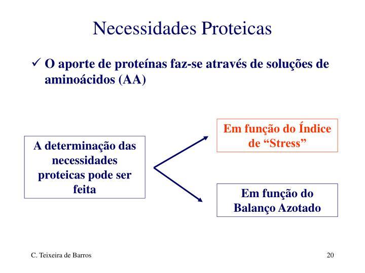 Necessidades Proteicas