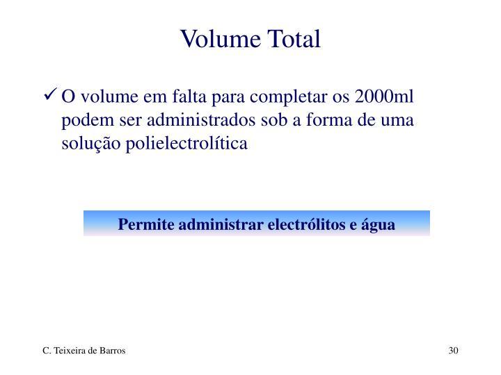 Volume Total