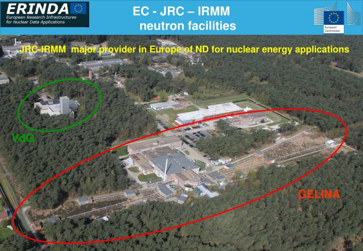 Ec jrc irmm neutron facilities
