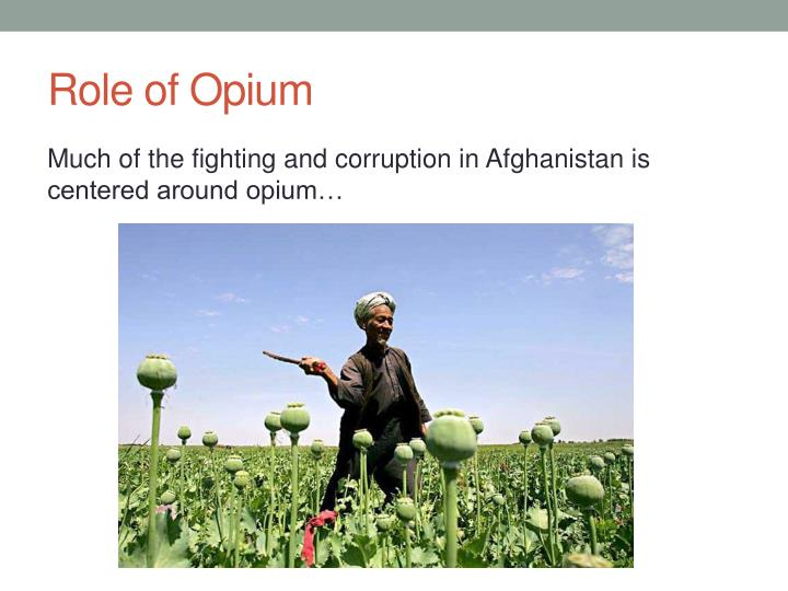 Role of Opium