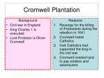 cromwell plantation