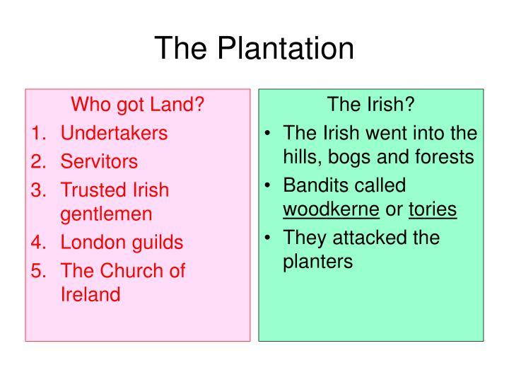 Who got Land?