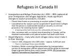 refugees in canada iii