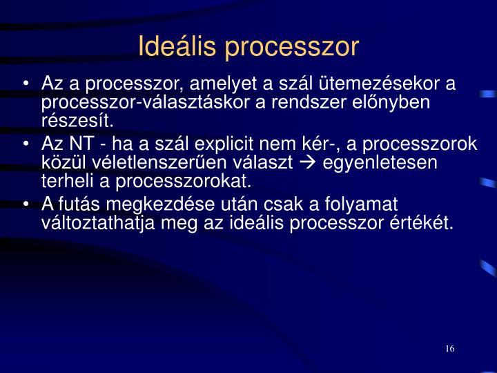 Ideális processzor