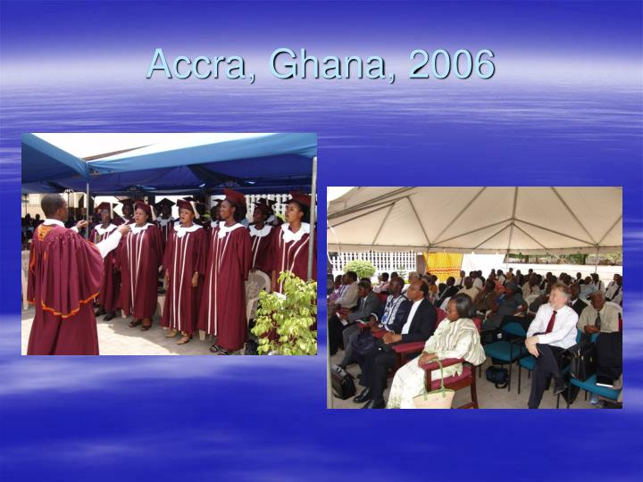 Accra, Ghana, 2006