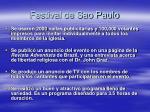 festival de sao paulo