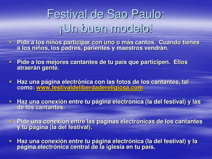 Festival de Sao Paulo: