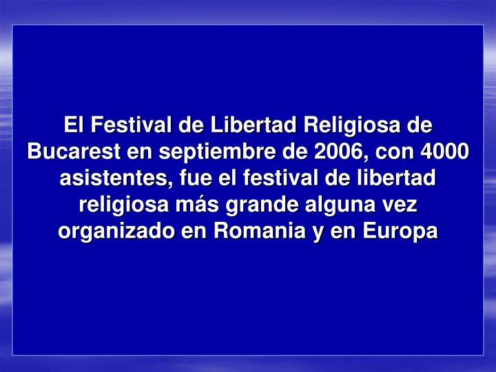 El Festival de Libertad