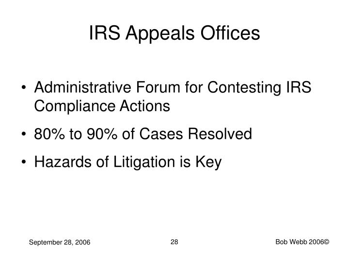 IRS Appeals Offices