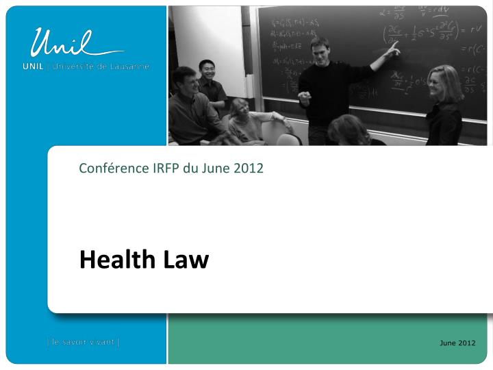 Conf rence irfp du june 2012