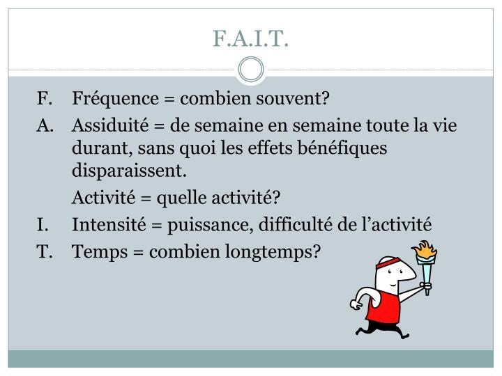 F.A.I.T.
