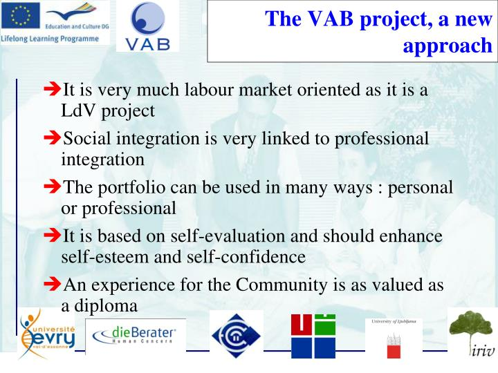 The VAB project, a new approach