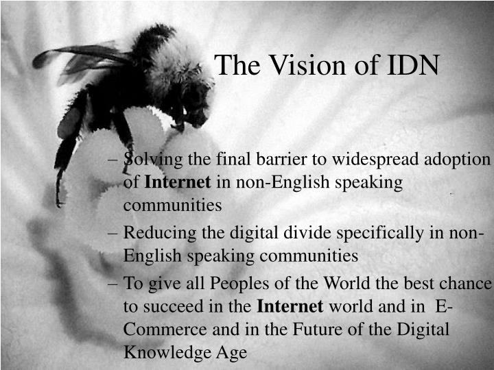The Vision of IDN
