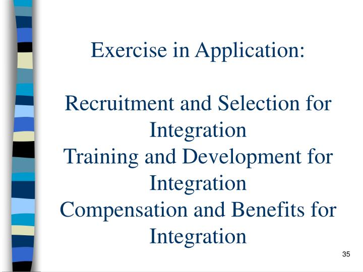 Exercise in Application: