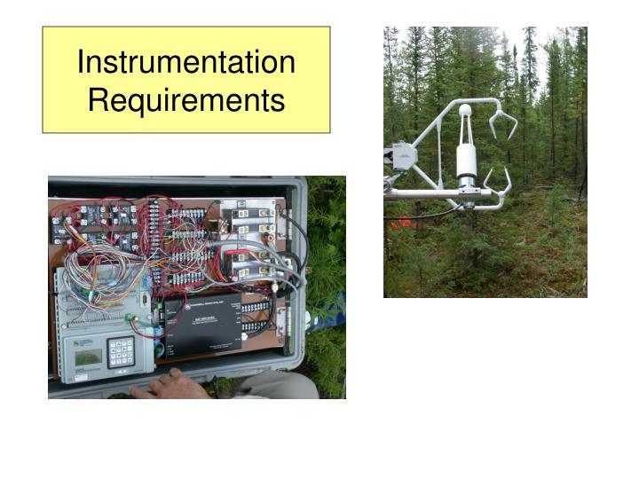 Instrumentation Requirements