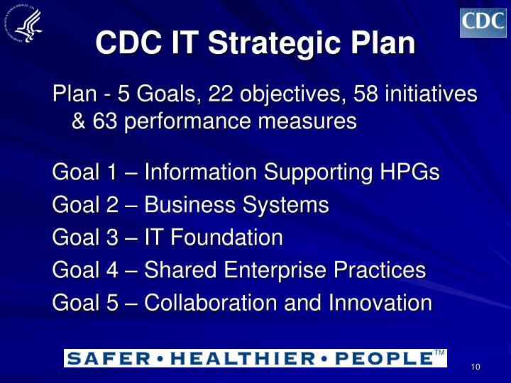 CDC IT Strategic Plan