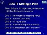 cdc it strategic plan1