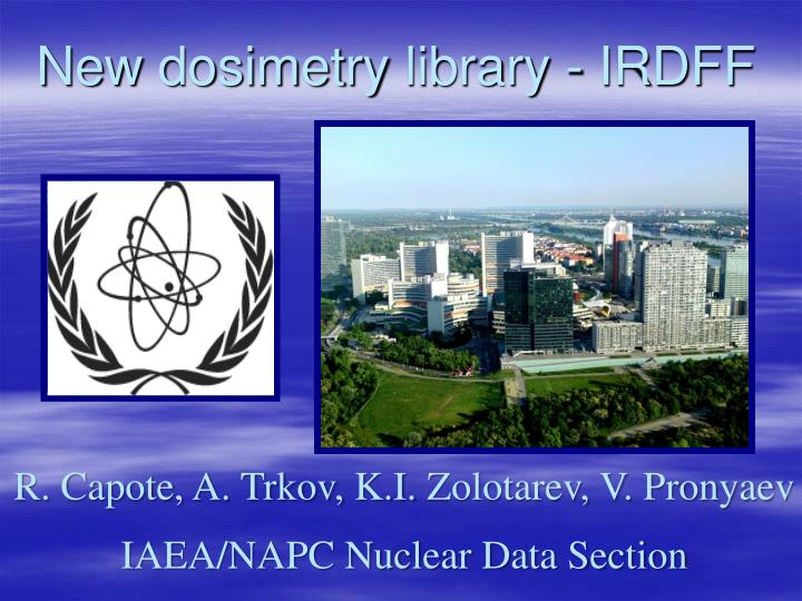 New dosimetry library irdff