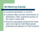 net metering subsidy