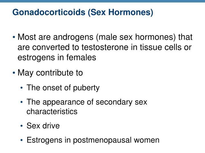 Gonadocorticoids (Sex Hormones)