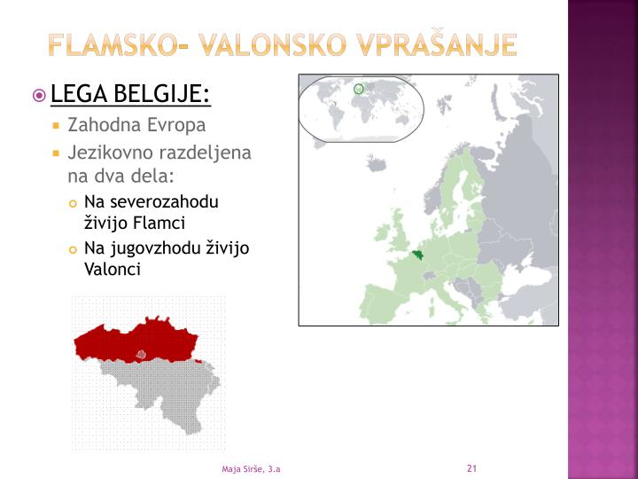 FLAMSKO- VALONSKO VPRAŠANJE