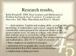 research results 3