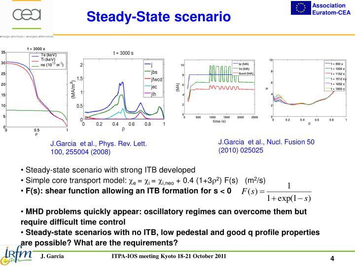 Steady-State scenario