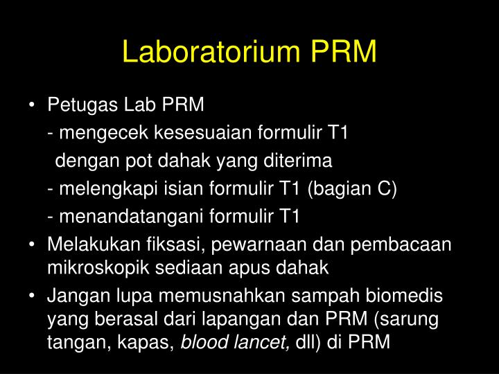 Laboratorium PRM