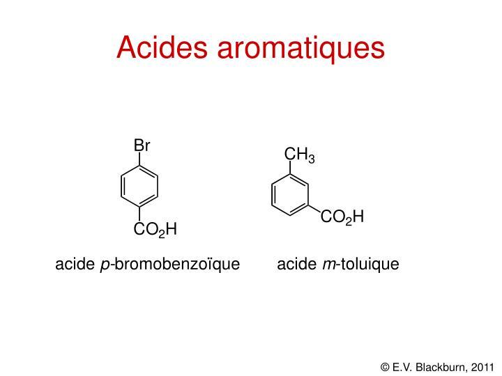 Acides aromatiques