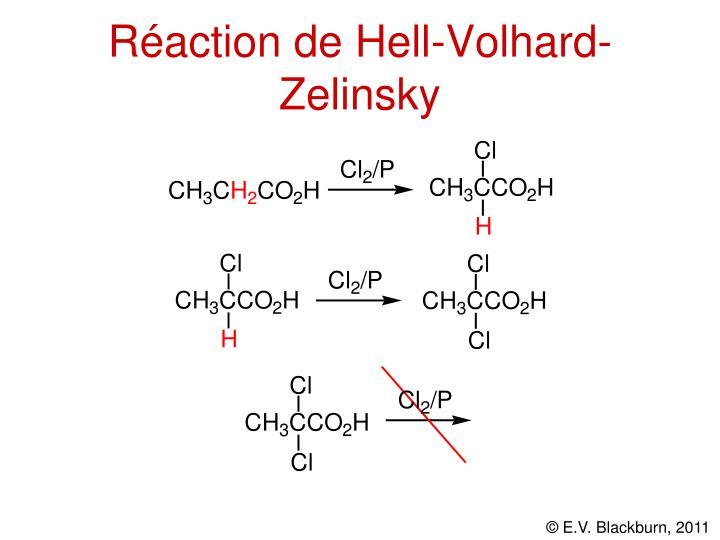 Réaction de Hell-Volhard-Zelinsky