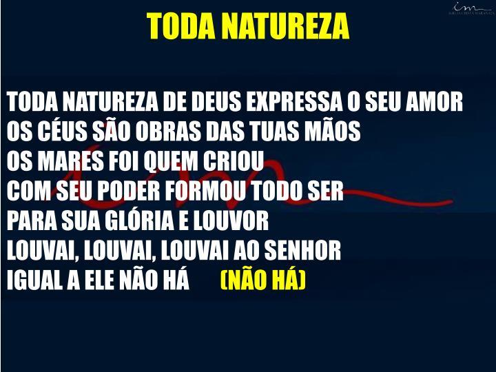 TODA NATUREZA