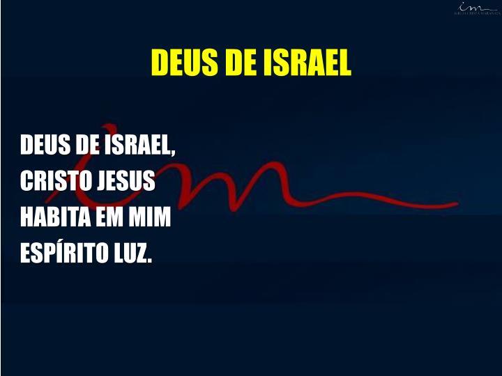 DEUS DE ISRAEL,