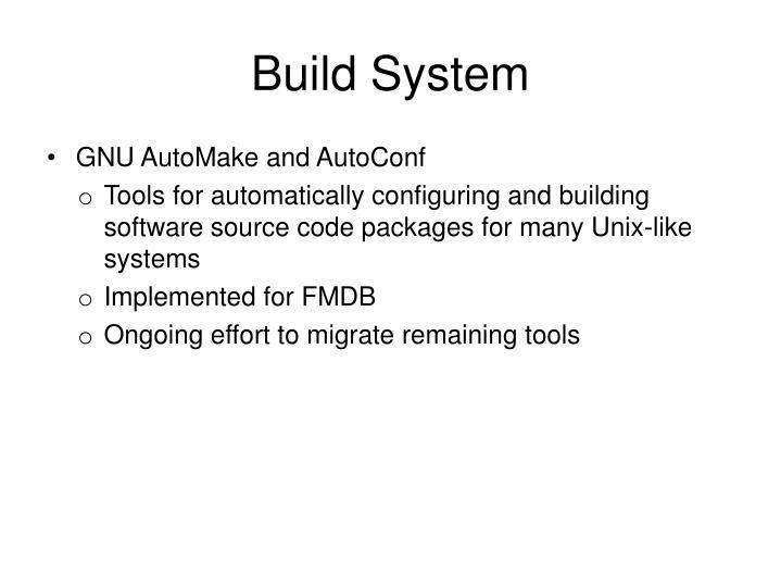 Build System
